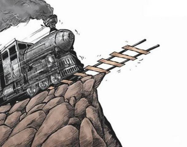 Speeding-Train-fiscal-cliff-and-gold-bullion