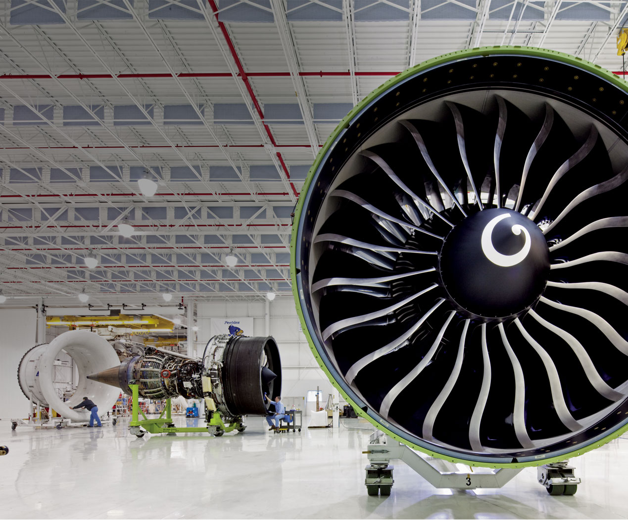 Rare-earth-metal-production-aircraft-engine